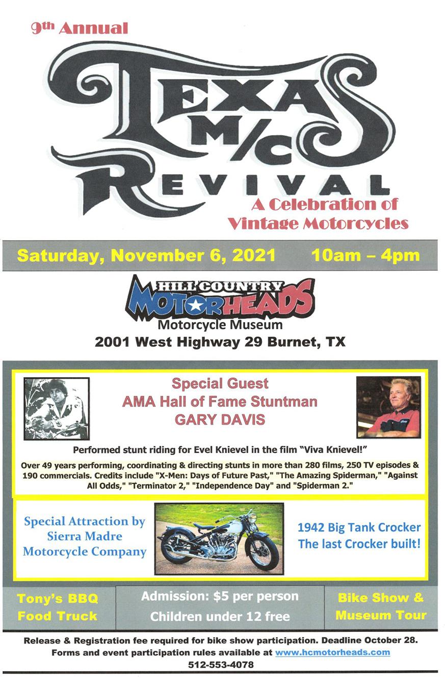 Texas M/C Revival poster